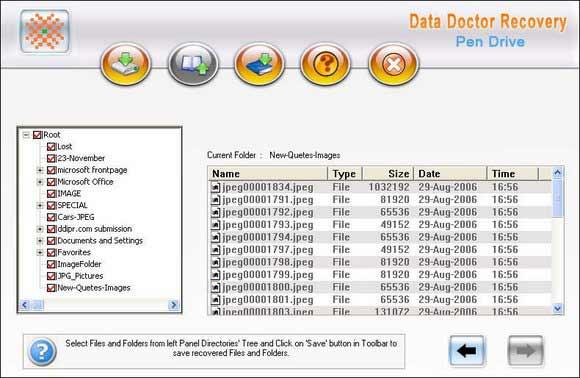 Flash Drive Recovery screen shot