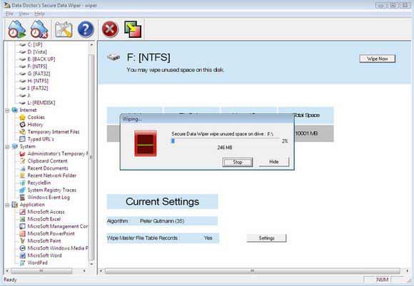 Professional Data Erasure Software