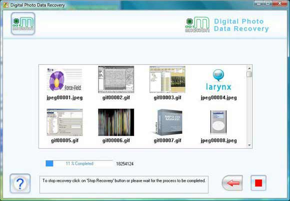 Recover Digital Picture screen shot