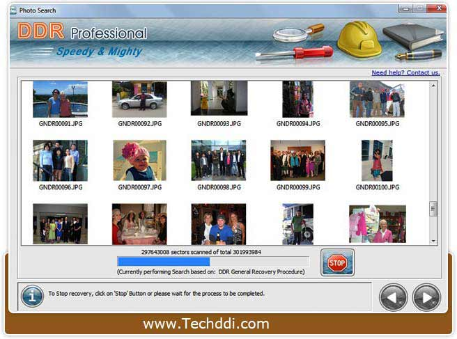 Download USB media data recovery application