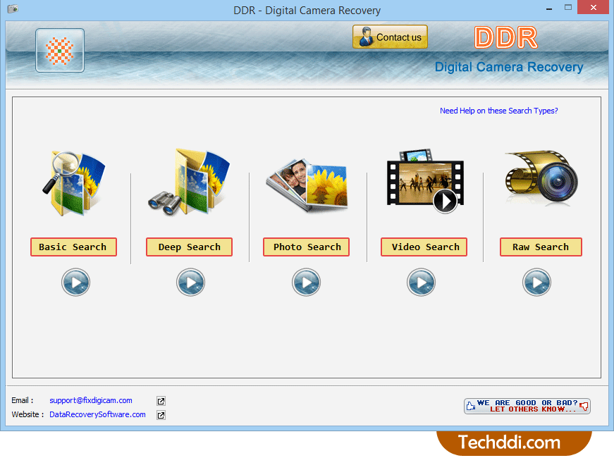 Recover deleted pictures from digital camera