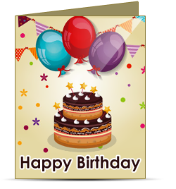 Birthday cards maker software creates and prints birthday wishes cards birthday cards maker software m4hsunfo
