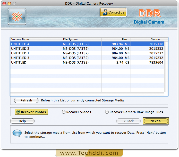 Mac Data Recovery Software for Digital Camera rescue audio video