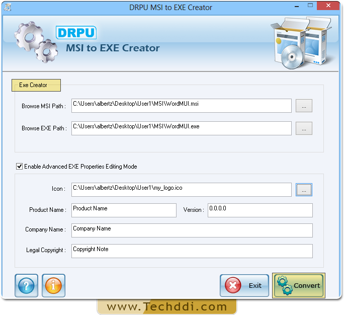 MSI to EXE creator software create  exe setup download