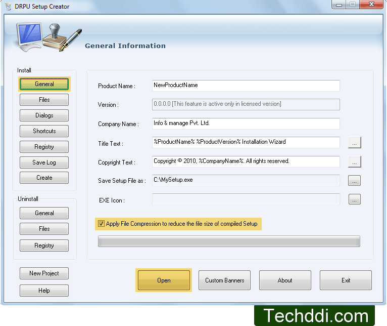 Software Installer Setup Maker - click for full size